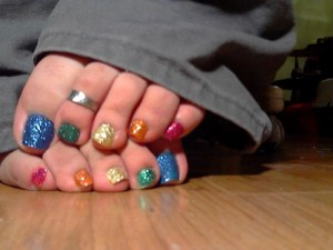 Sparkle Toes