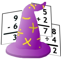 Math Wizard With Cards Big Base
