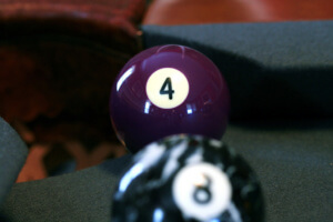 Being Behind the 8 Ball