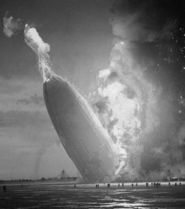 1937 Led Zepelin Hindenburg (also flammable)