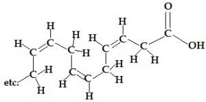 fatty acid chain